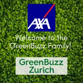 Welcome, AXA, to the GreenBuzz family!