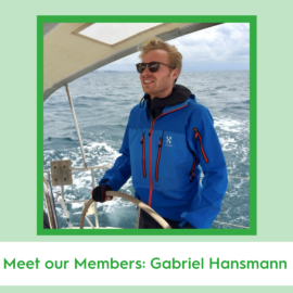 Meet our Members: Gabriel Hansmann
