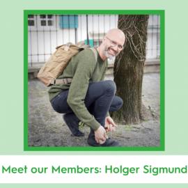 Meet our Members: Holger Sigmund